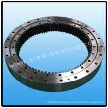 Cojinete giratorio de doble fila con engranaje interno para la Máquina de Constracción