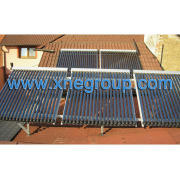 Split solar hot water system with multi function design