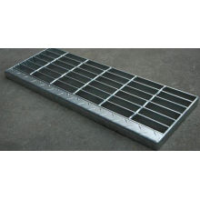 Grille d'escalier en acier galvanisé