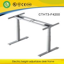 2016Irland elektrische höhenverstellbare Büro Schreibtisch Rahmen & Heben Metall Arbeitstisch Beine mit 4 Speicher Höhe Bedienfeld