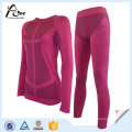 Polyester Nylon Women Thermal Base Layer Underwear for Wholesale