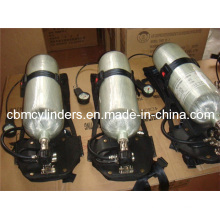 Self-Contained Self-Rescue Oxygen Breathing Apparatus Scba