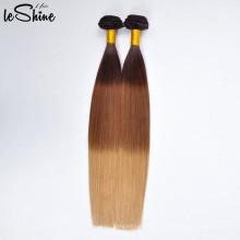 Двухместный нарисованные Премиум я Наклоняю выдвижение волос Pre-скрепленные волосы