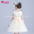 New design colorful lovely children wedding dress children short design children girl latin dance dress for pary and wedding