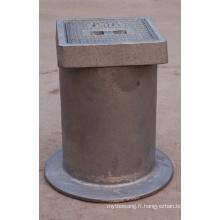 Boite de fonte en fer fonte / fonte ductile