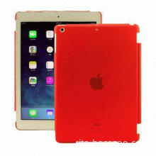 New Translucent Red Silicone Matte Hard Case for iPad Air