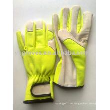 Garten Handschuh-Leder Handschuh-Industrie Handschuh-Geschützter Handschuh