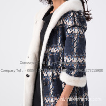 Lady Kopenhagen Winter Velvet Mink Coat