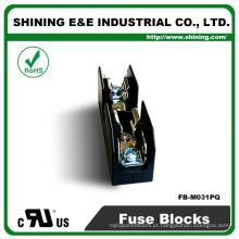 FB-M031PQ homologado UL igual a Bussmann Base de fusíveis de cerâmica de 1 pólo 30A