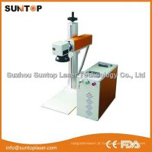 China Melhor Máquina de marcação a laser de fibra de qualidade / Máquina de marcação a laser China