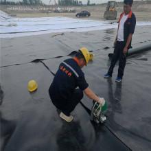 Черный HDPE Строительный водонепроницаемый материал, используемый для горнодобывающей промышленности
