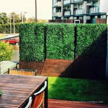 Haus und Garten dauerhafte künstliche Hecke Wand Privatsphäre für Zaun-Panel