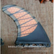 2016 made FCS G3 half carbon orange future fin surf on promotion
