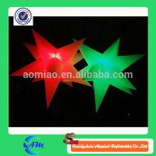 Produits gonflables gonflables pour éclairage gonflable à étoile gonflable à LED