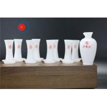 Precio competitivo Opal Glass Tea Set