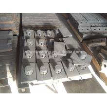 Blasbar Mn13Cr2 Mn18Cr2 Mn22Cr2 Cr26 C20Mo Cr15Mo Martensitischer Mangan Keramikeinsatz PF1214 / HP Serie C Serie