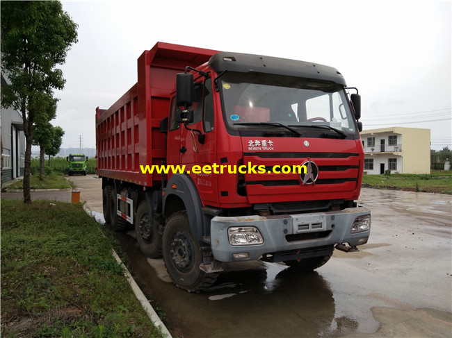 336HP 12 Wheeler Dump Trucks