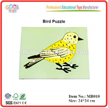 Montessori materiales, Montessori animal puzzle-bird