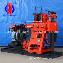 XY-180 hydraulic core drilling rig low speed and high torque portable drilling machine with oil pressure