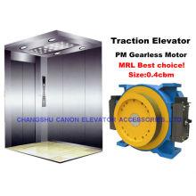 Permanentmagnet synchron getriebelose Aufzug Zugmaschine