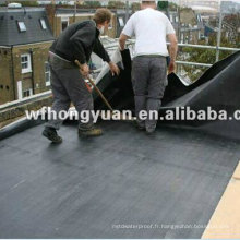 Membrane imperméable EPDM bon marché / revêtement de piscine / feuille de toit en caoutchouc / matériaux de construction