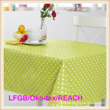DOT Designs PVC /PEVA Waterproof Printed Tablecloth Cheap Price