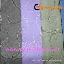 Tissu de Rideau en Jacquard mode 2012 fait 85 % Polyester, 15 % Chenille