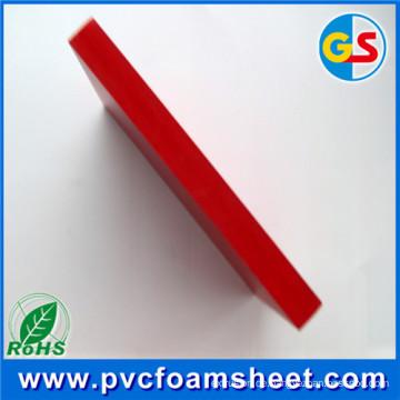 PVC-Hartschaum-Blatt-Lieferant (meistverkaufte Größe: 1,22 m * 2,44 m. Weiß und hohe Dichte)