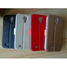Ultra Slim Deluxe Chrome Cross Leather Case for Samsung S4
