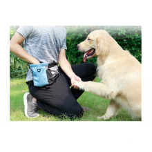 Popular item of dog pet daily uses garbage bag storage food toys outside with big capacity cross the body waist bag