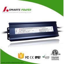 12v 100w a prueba de agua 0-10v dimmable ce ul aprobó la fuente de alimentación LED