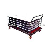 Carrito rectangular de mesa XO703