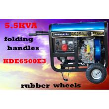 3kw 5kw 6kw Kleine Luft kühlen tragbaren Generator Diesel Generator 5kVA