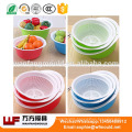 OEM Custom vegetable wash basket mould/Custom design plastic injection vegetable wash basket mold