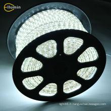 Bande LED 220V 5050 Blanc chaud / Ampoule / Jaune