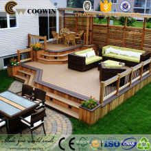 wpc wood composite exterior deck covering material