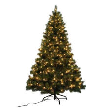 7 FT. Noble Fir Quick-Set Artificial Christmas Tree with 500 Clear Lights (MY100.082.00)