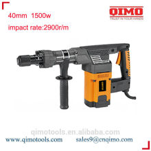 china rotary hammer drill 40mm 1500w qimo power tools