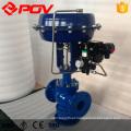 Válvula de controle de pressão de vazão de vapor de 3 vias de controle pneumático