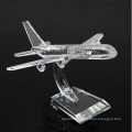 Business Decoration Gifts K9 Crystal Plane Model