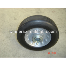 6x2 small solid rubber wheels