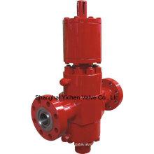 Válvula de compuerta de API 6A losa hidráulica