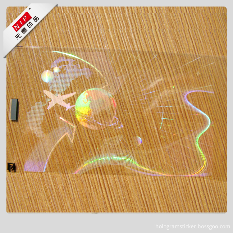 Hologram sticker film