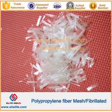 Refuerzo de hormigón microfibra fibrilado