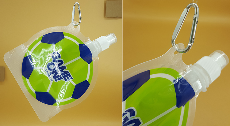 DETAIL football shaped bottle