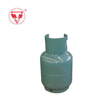 Cilindro de gás GLP de cozinha portátil de 2 kg do mercado do Oriente Médio