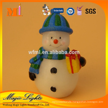 Competitive Price Customized Snowman Christmas Candle with BRC Certificate