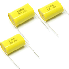 Cl20 Axial Metallized Polyester Capacitor 335j400V