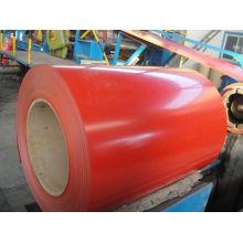 RAL 9003 de rojo Color cubrió la bobina de acero para materiales de cubierta