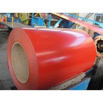Cor bobina de folha revestida para coberturas de casa ondulado